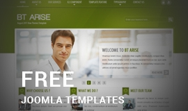 Best of free Joomla Templates